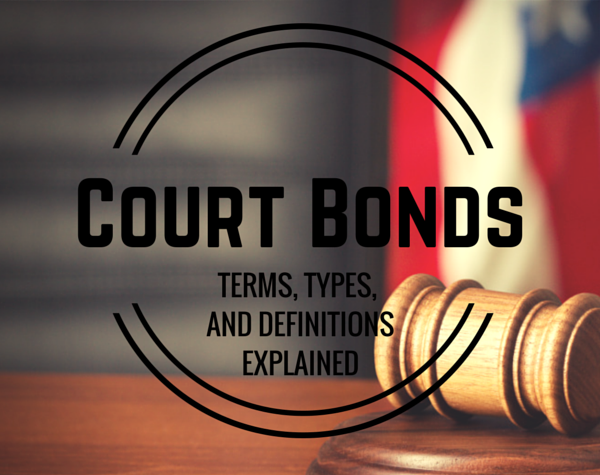Court bonding canada