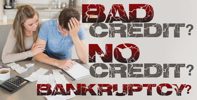 bad credit performance bonding