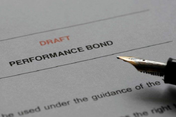 performance bond qualification