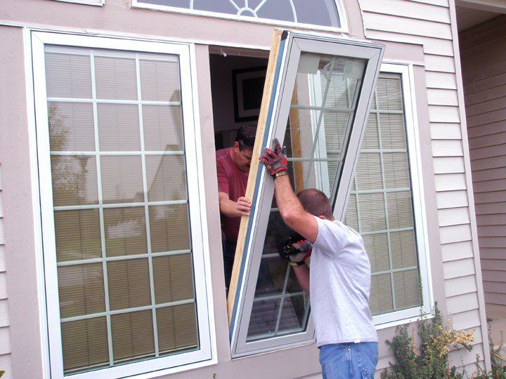 Contractor installing windows and doors for a client in Scarborough